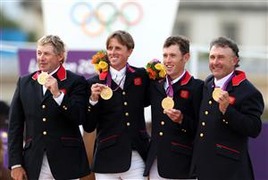 Equestrian Olympic Medalists at Buckingham Palace