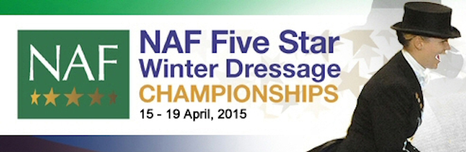 NAF Five Star Winter Dressage Championships 2015